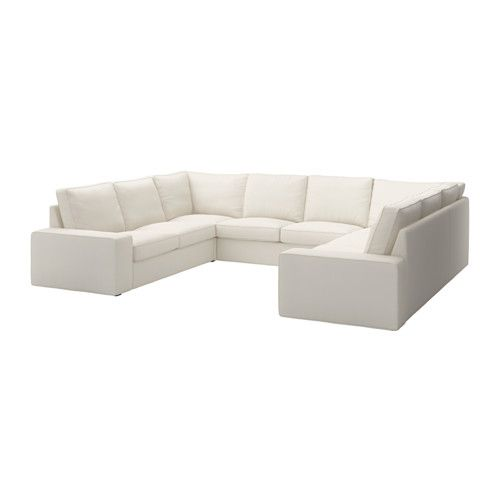 Kivik 8 Seater Ramna Light Grey U Shaped Sofa 6 Seat Ikea U Shaped Sofa Kivik Sofa Modular Corner Sofa