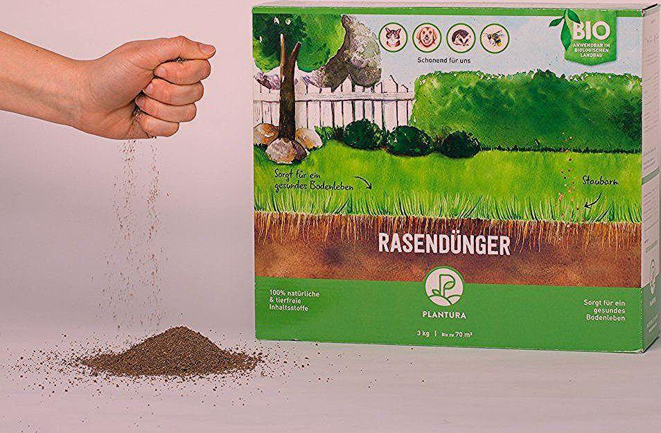 Photo of Bio-Rasendünger & Bio-Herbstrasendünger-Set / Boxen / je 3 kg