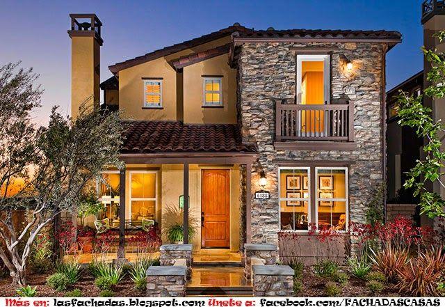 Como arreglar la fachada de una casa pequena fachadas de for Como acomodar una casa pequena