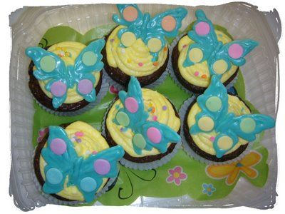 How to make chocolate butterfly cupcake toppers