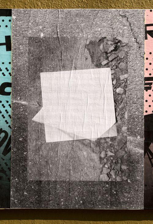 """Eric Hurtgen, Ficciones Typografika 664 (24""""x36""""). Installed on September 28, 2014. More on Ficciones Typografika."""