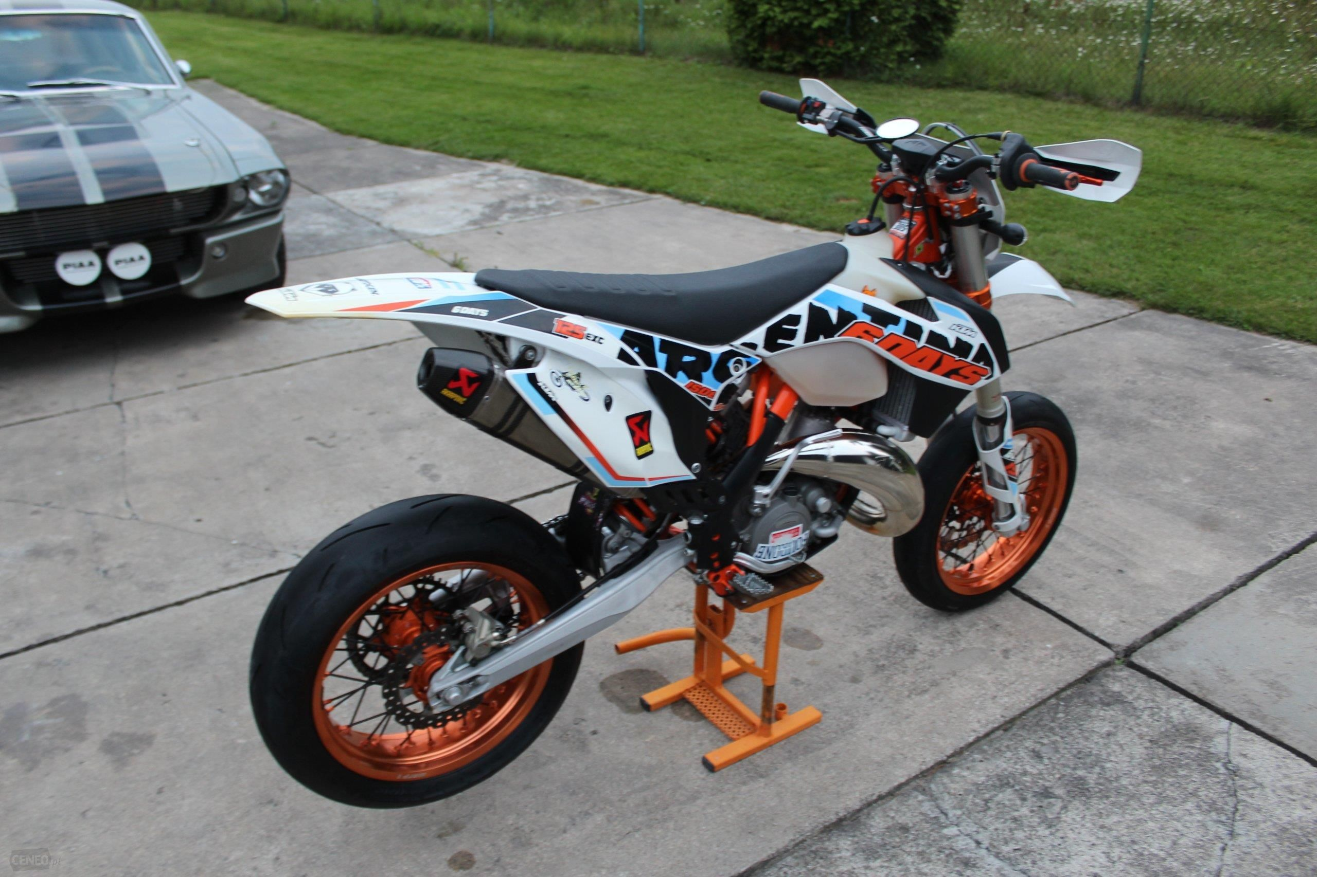 ktm exc 125 six days argentina supermoto opinie i ceny. Black Bedroom Furniture Sets. Home Design Ideas