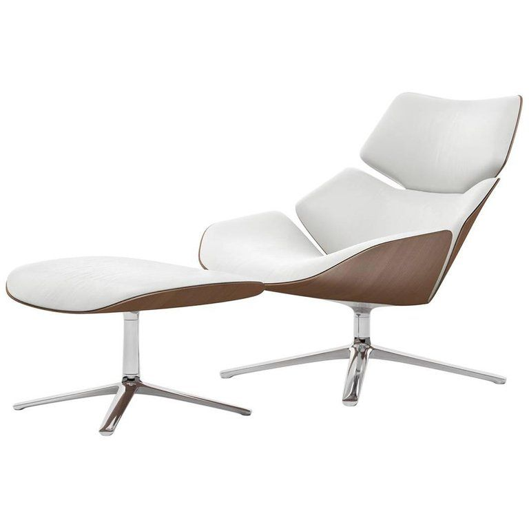 Cor Fauteuil Shrimp.Cor Shrimp Swivel Lounge Chair And Ottoman In Fabric Or