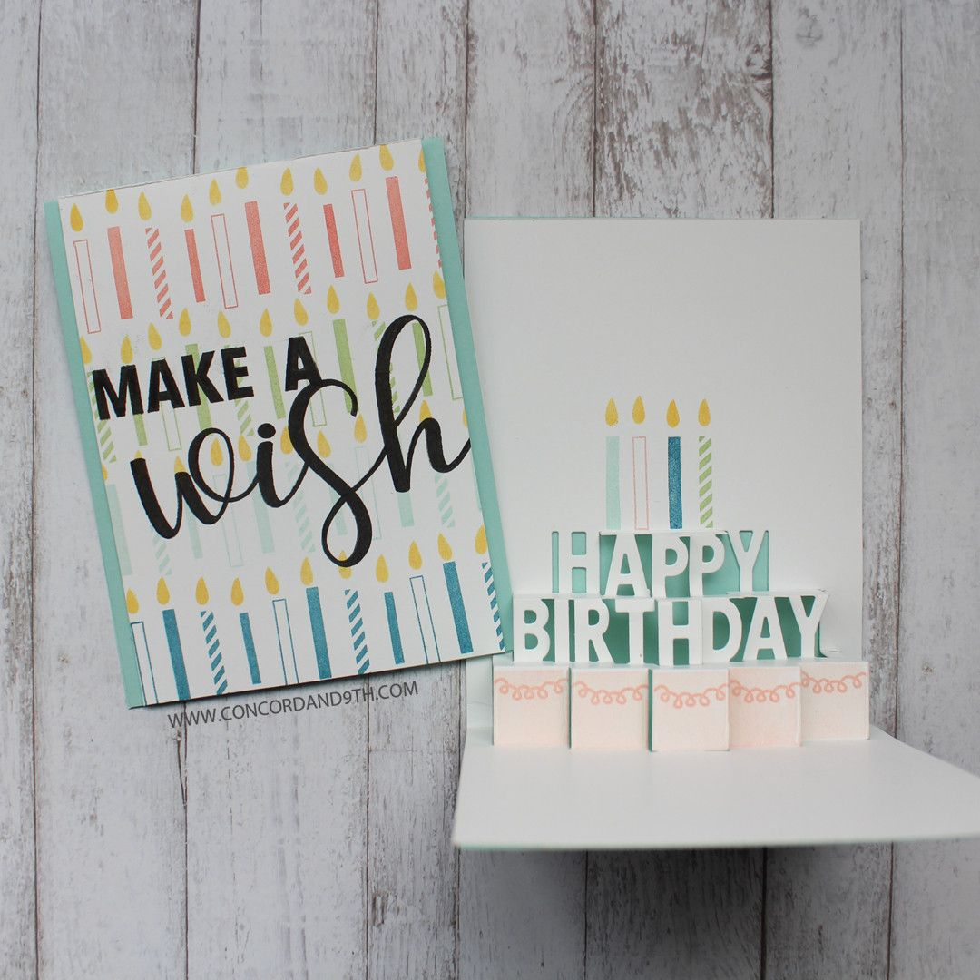 Party wishes stamp set cards birthday pinterest products