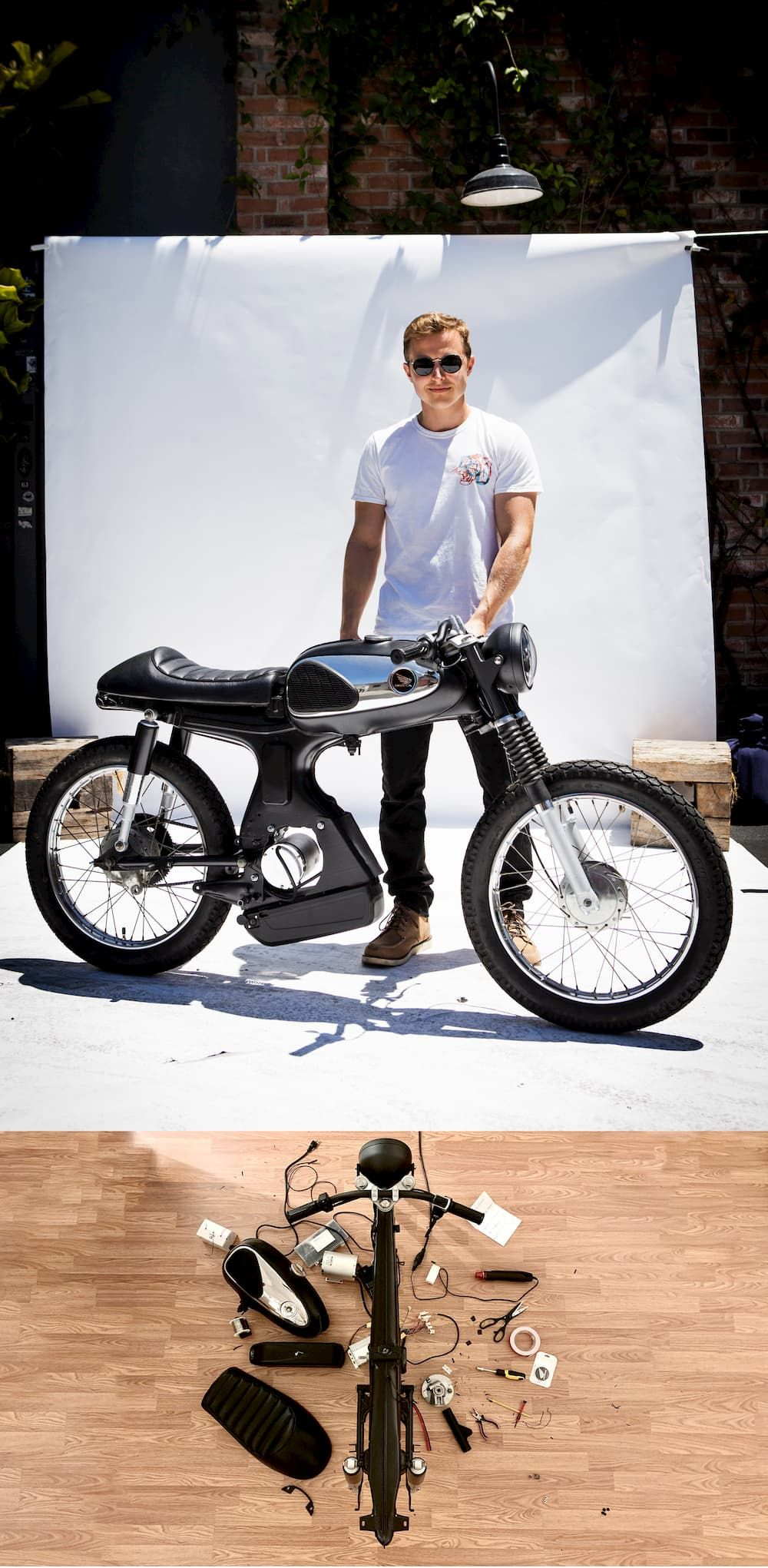 Two Electric Motorcycles From Deus Bike Build Off 2019