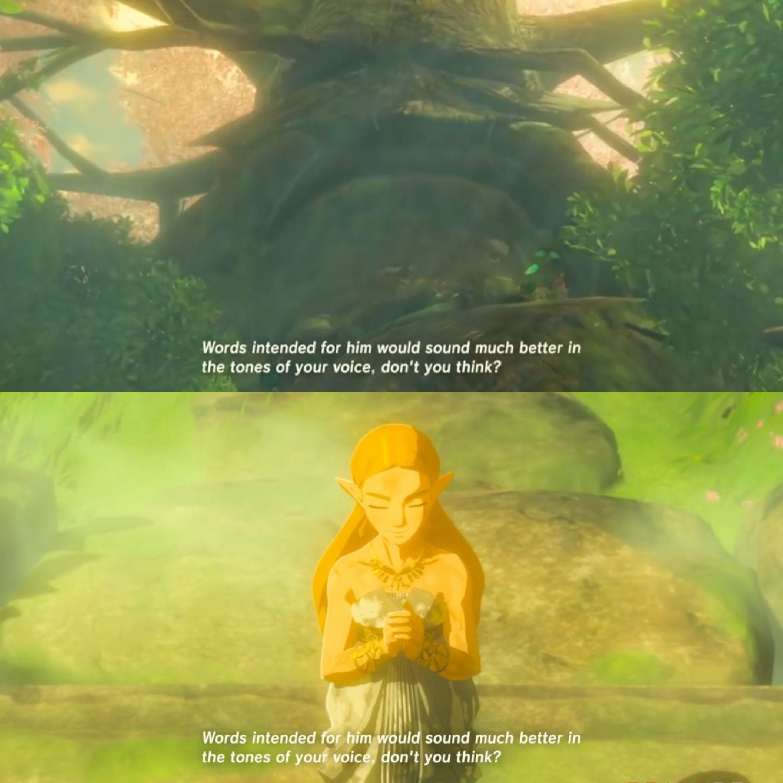 Zelda: Breath of the Wild Zelda and the Deku Tree | 4