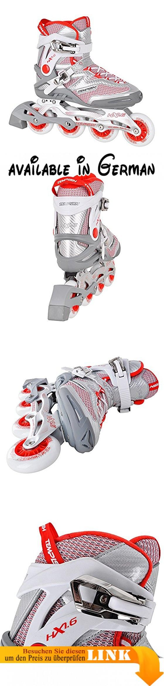 Tempish Damen HX 1.6 84 Lady Outdoor-Inlineskates Rot, Red, 40 ...