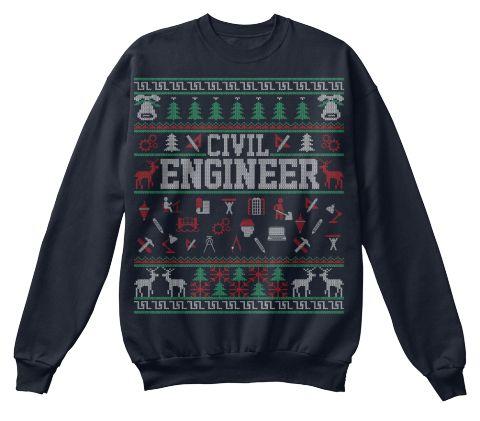 Civil Engineer Christmas Sweaters