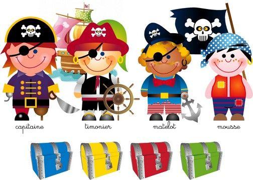 jeu sur les pirates | pirates et mer | Pinterest | Maths, Montessori ...