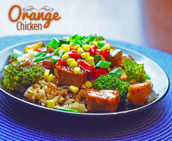 Skinny Orange Chicken #chineseorangechicken