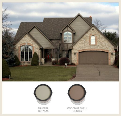 See The Behr Paint Colors Which Most Often Are Used On Traditional Tudor Style Homes In Our Gallery Colorfully