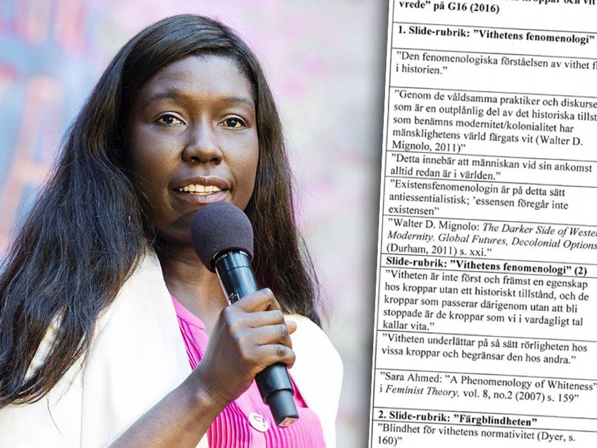 Fi-ledaren Victoria Kawesa anklagas för att ha plagierat en annan forskares material.