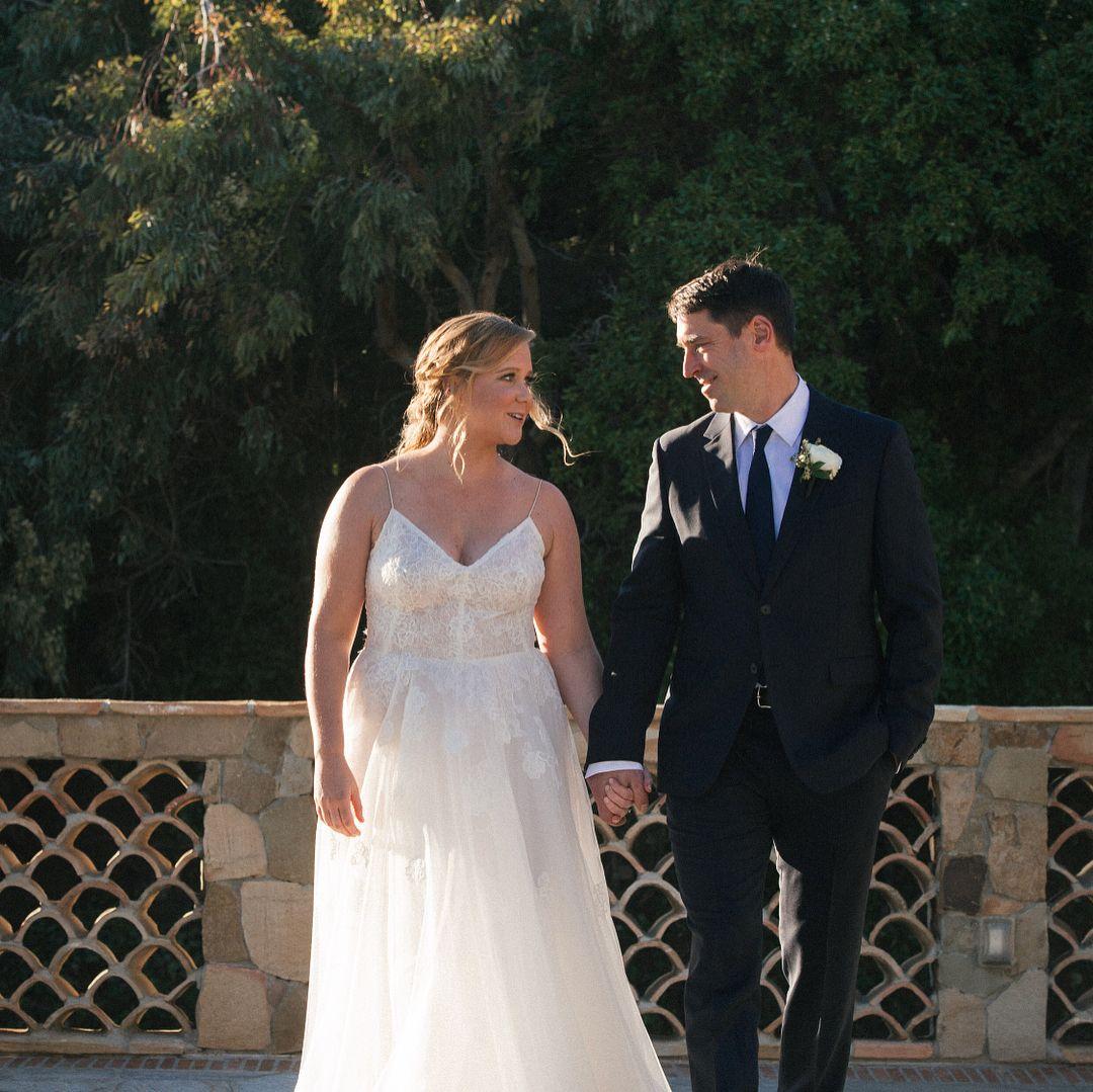 Amy's wedding dress  Schumer wedding  Entertainment  Pinterest  Amy schumer and