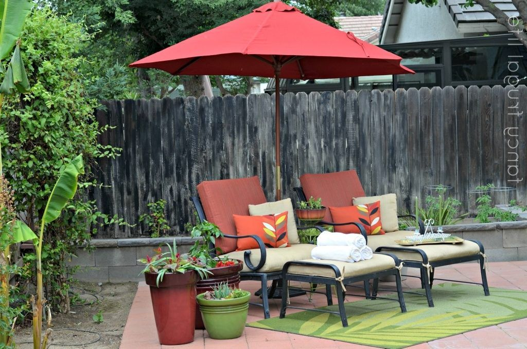 Furniture: Captivating Patio Umbrellas Walmart For Outdoor Intended For  Smart Walmart Patio Sets Decor