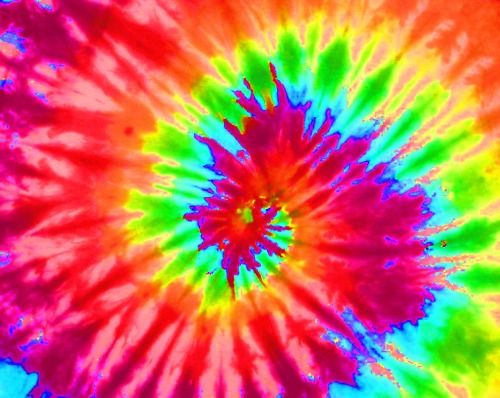 Reminds me of the 70 39 s tye dye fad rainbow bright hearts delite pinterest rainbow colors - Tie and dye colore ...