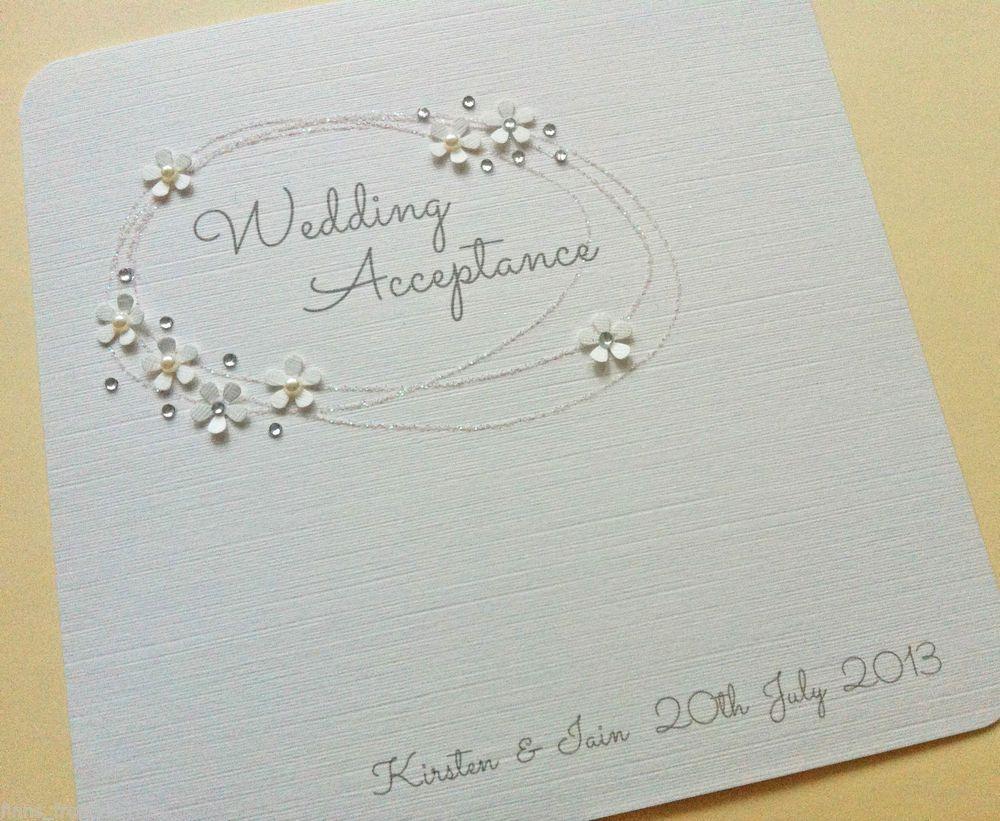 Wedding Acceptance Cards Google Search Wedding Acceptance Card Wedding Cards Cards