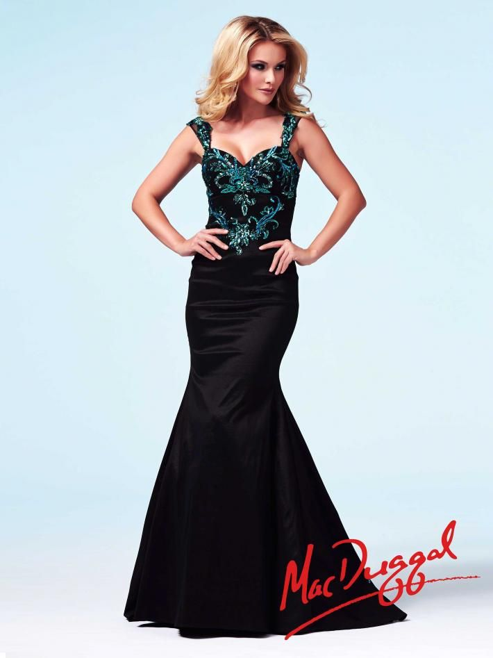 Peacock Inspired Dresses Dress This Divine Trumpet Style Prom