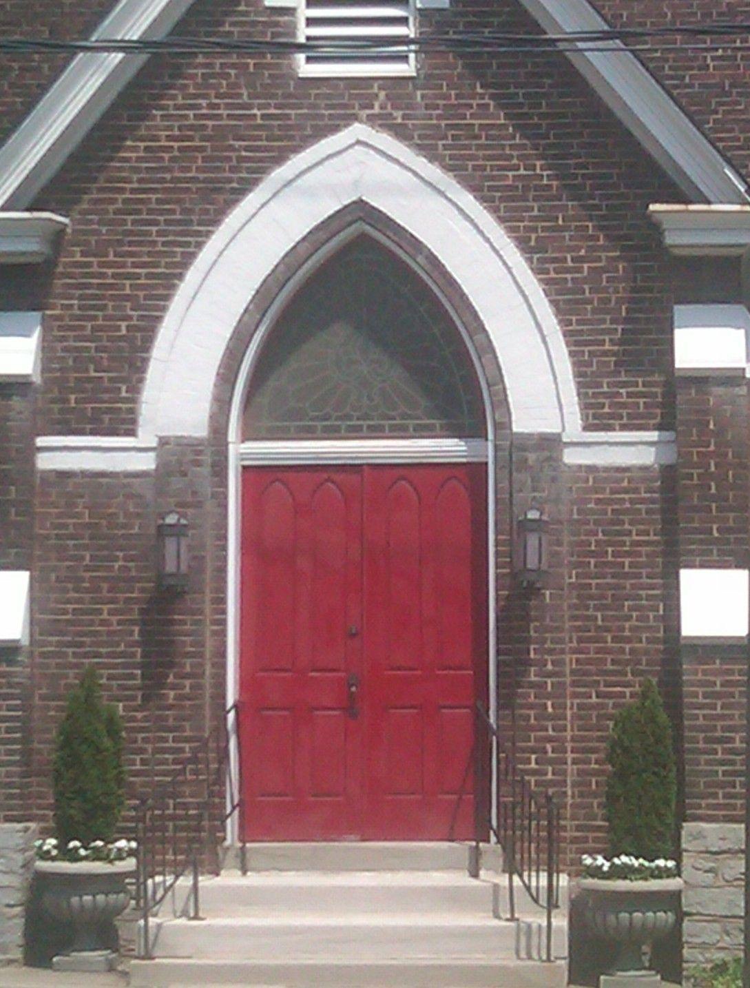Love The Red Door An Episcopal Church In Versailles Ky Red
