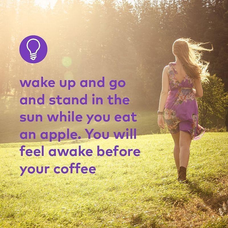 Rise and SHINE!  #lifehacks #tips #wakeup #instapic