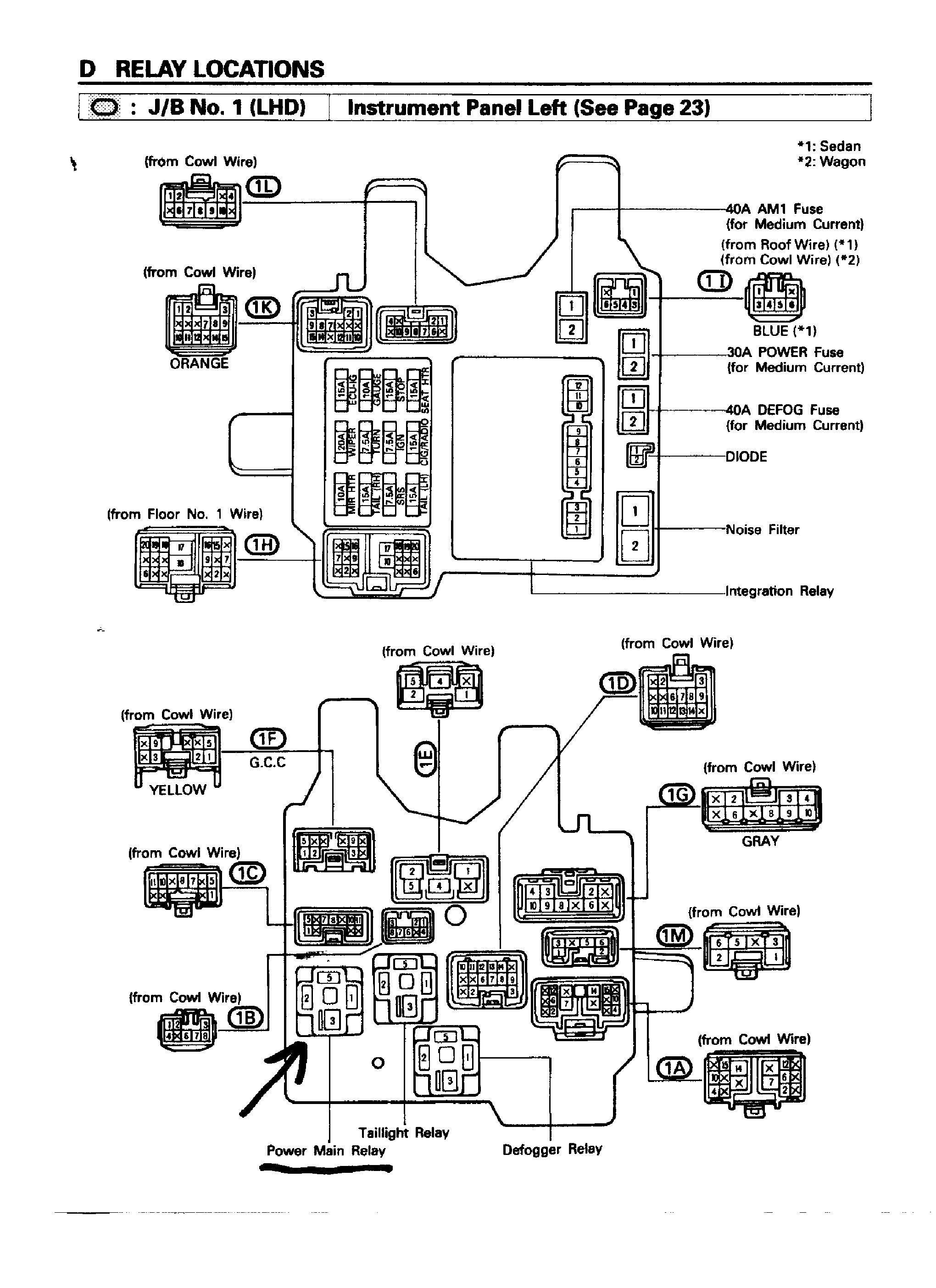 Schematic Diagram For Toyota Corolla