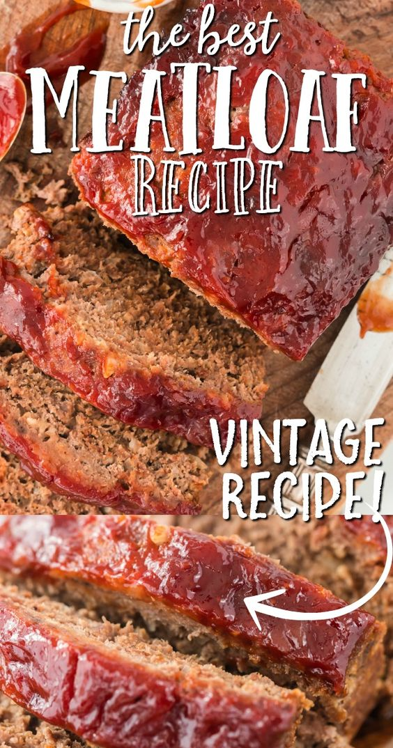 This A Classic Ground Beef Meatloaf Is The Type Of Recipe You Ll Want To Make Again And Again It S Easy To Make In In 2020 Meatloaf Recipes Homemade Meatloaf Recipes