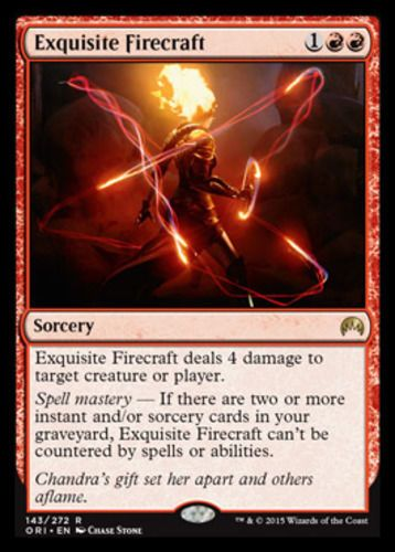 Exquisite-Firecraft-x4-Magic-the-Gathering-4x-Magic-Origins-mtg-card-lot-NM-rare