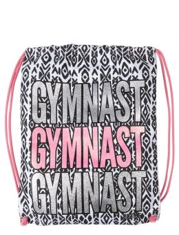 55f02342efb5 Gymnast Drawstring Tote. Gymnast Drawstring Tote Gymnastics Bags ...