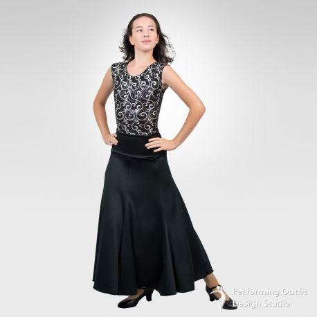 Ballroom & Latin dance skirt