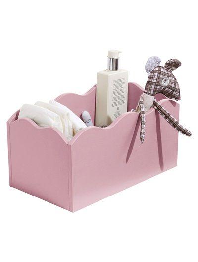 Boîte de rangement pour couches bébé TAUPE+ROSE+VERT+BLEU+BLANC ...