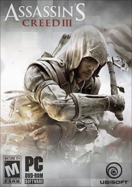 Assassins Creed 3 Game Dvd Cover With Images Assassins Creed