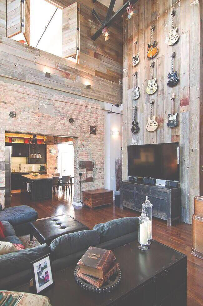 Love The Brick Wall. Definitely Want Red Brick In My House. Part 72