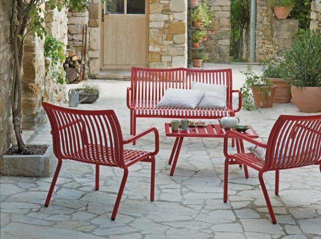 Salon de jardin design rouge jardiland (scheduled via http://www ...