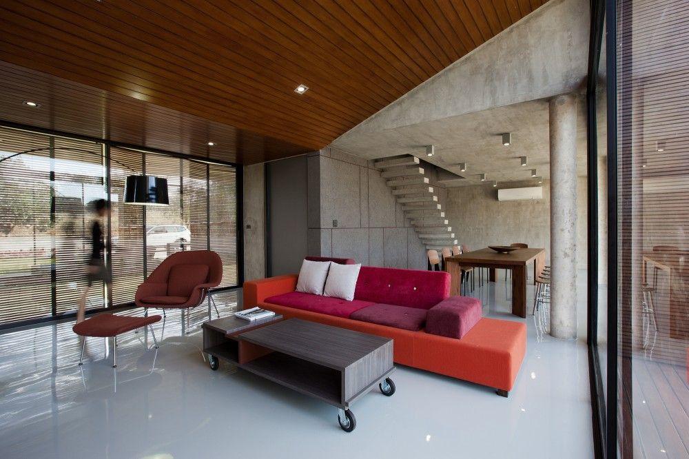 70 moderne, innovative Luxus Interieur Ideen fürs Wohnzimmer - bunt ...