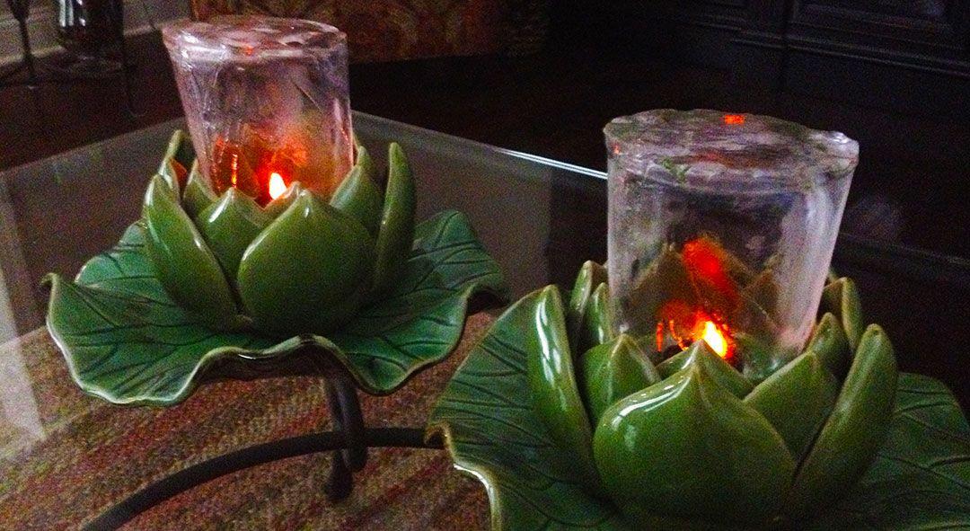 Icemaker mold minis ice maker plants lanterns
