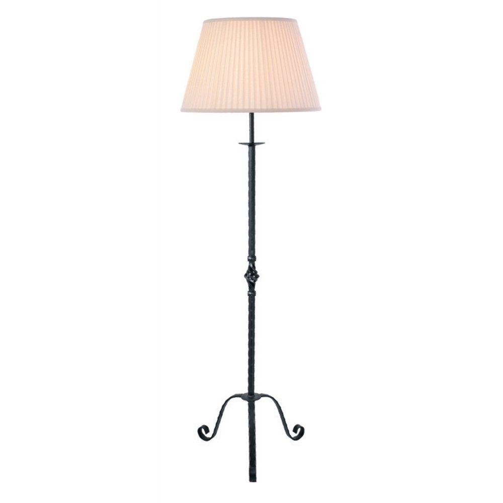 Vintage Cast Iron Bridge Arm Floor Lamp With Floral Motif C 1920 Antique Floor Lamps Vintage Floor Lamp Antique Brass Floor Lamp