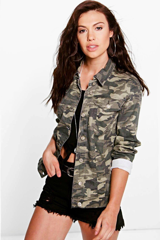 Nadia Oversize Camo Denim Jacket Camo Denim Jacket Camo Bomber Jacket Fall Fashion Outfits Casual [ 1500 x 1000 Pixel ]