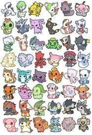 Résultat De Recherche Dimages Pour Pokemon Chibi