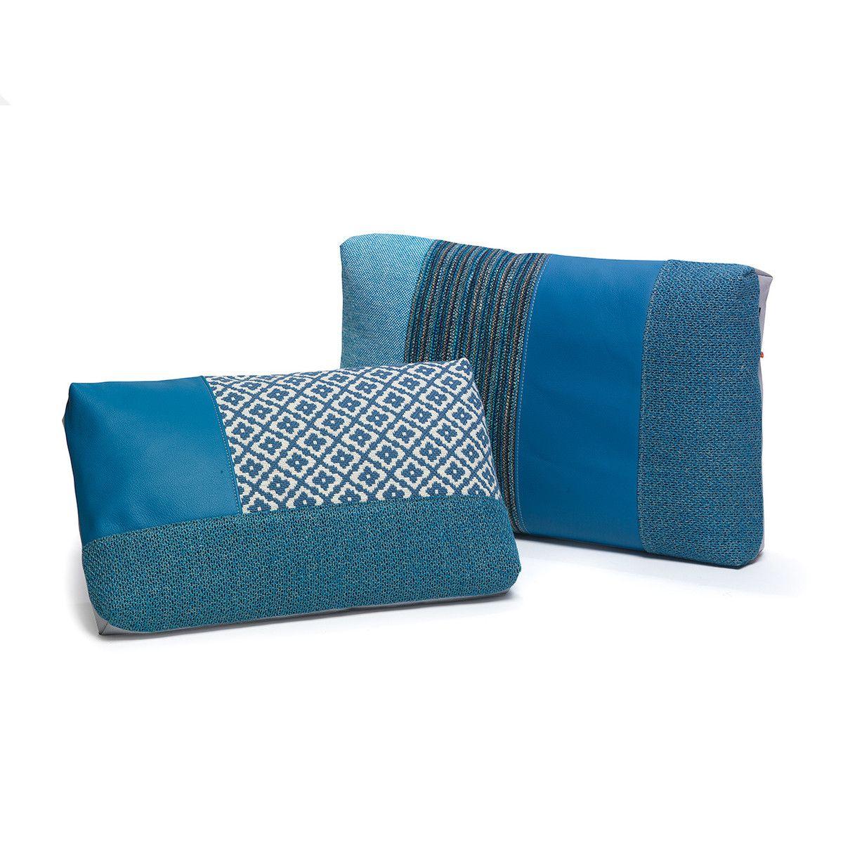 blue farmhouse outdoor pillows