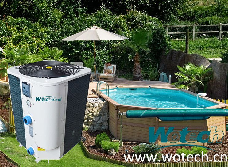Pool Heat Pump 9 5kw 31kw R410a Refrigerant Vertical Discharge Cop Up To 6 70 80 Energy Save For Mor Pool Heat Pump Heat Pump Water Heater Swimming Pools