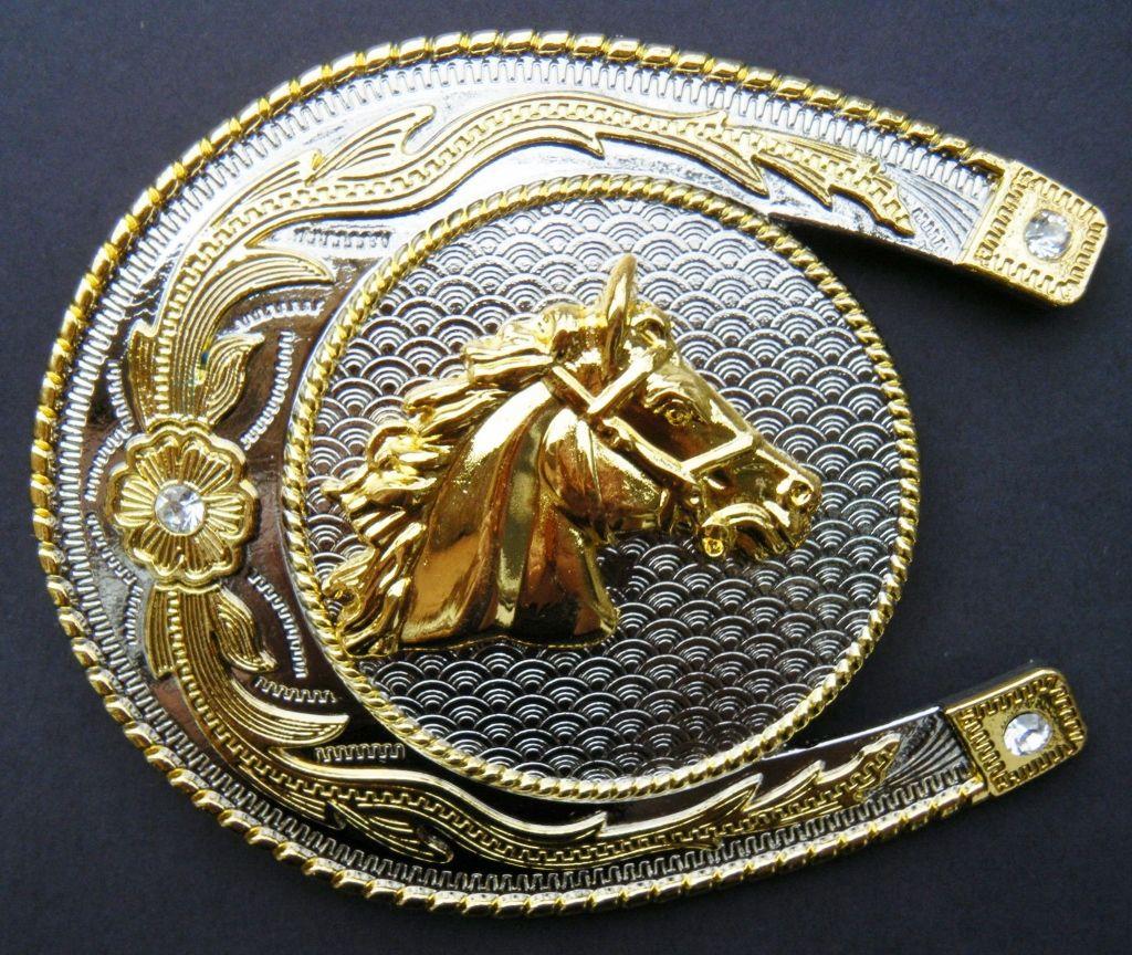 Antique Silver color DRAGON Western style Belt Buckle Full Metal US seller