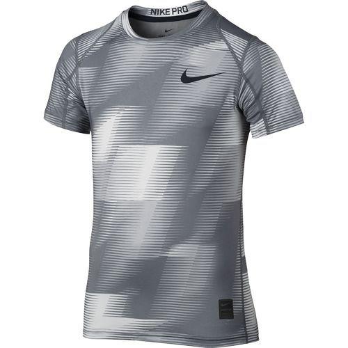 Nike Boys' Pro Cool Top (Wolf GreyCool GreyBlack, Size