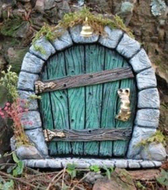 fairy_door24 DIY and crafts Pinterest Adornos navideños y Adornos - jardines navideos