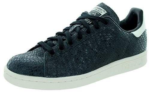 adidas donne 'stan smith nero / bianco / nero con gli originali una scarpa