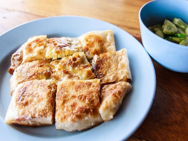 Mughlai Paratha Breakfast Recipe Recipes Breakfast Recipes Breakfast