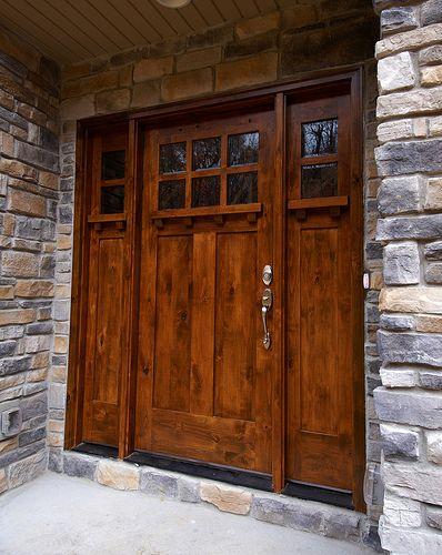images of adirondack home front doors | rustic, this front door is ...