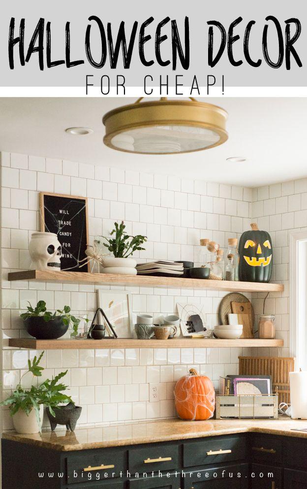 Halloween Decor For Cheap Bloggers\u0027 Best DIY Ideas Pinterest