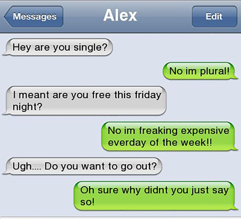 Funny Text Messages Of The Day Funny Messages Pinterest Funny