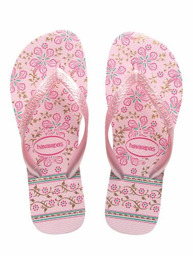 74a1c7d09 Havaianas Floral Gypsy - Light Rose