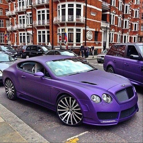 Matte Purple Bentley