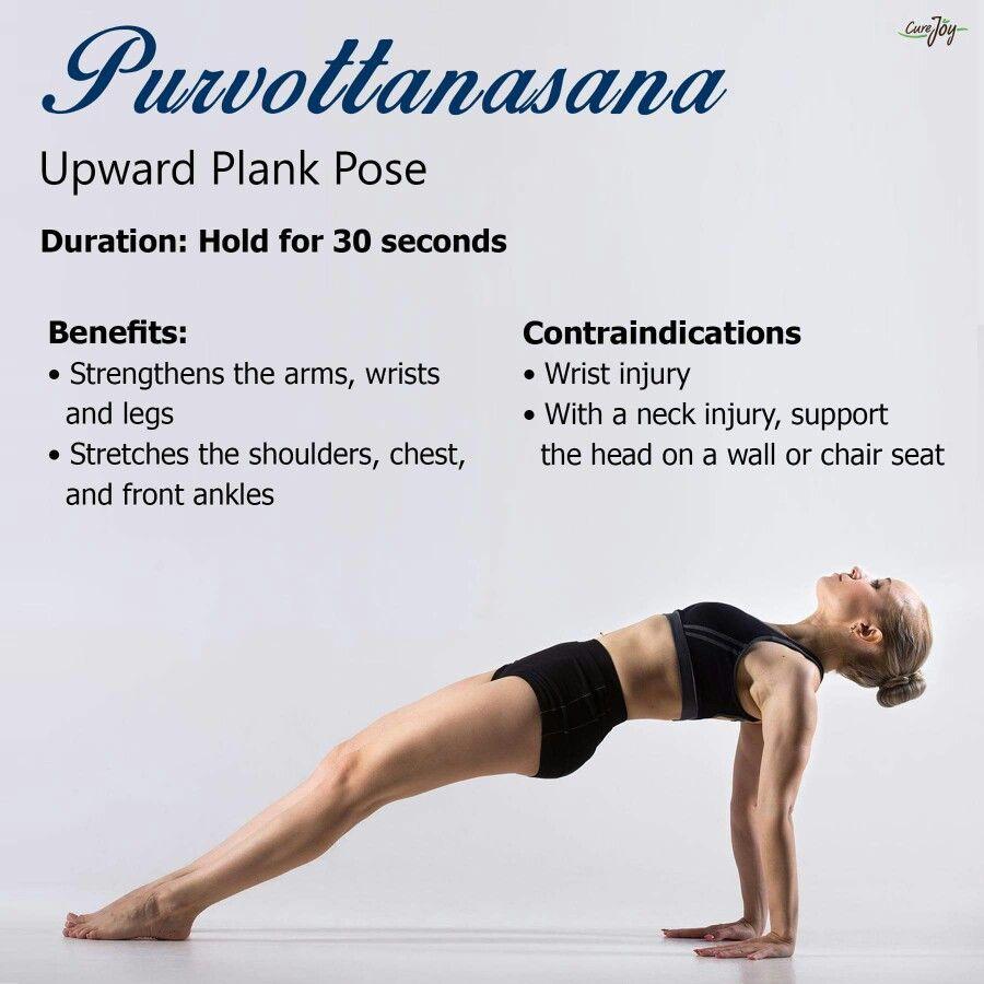 Upward Plank Pose Restorative Yoga Yoga Help Yoga Benefits